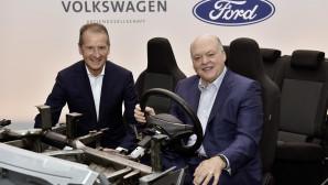 Οι CEO των VW και Ford