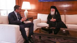 Ο Μητσοτάκης και ο Αρχιεπίσκοπος Αθηνών και Πάσης Ελλάδος, Ιερώνυμος