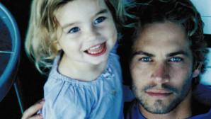 O Paul Walker με την κόρη του