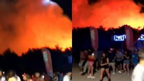 Πύρινη κόλαση σε μουσικό φεστιβάλ της Κροατίας