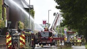 φωτιά σε εμπορικό κέντρο στο Λονδίνο