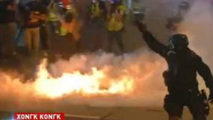 Χονγκ Κονγκ δακρυγόνα