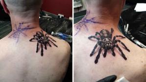 τατουάζ αράχνη