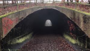 φάντασμα σε τούνελ