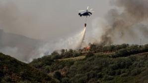 κατασβεστικό ελικόπτερο στην Ισπανία