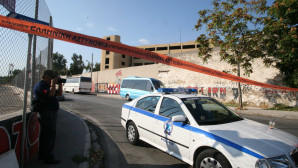 Περιπολικό στη λεωφόρο Βεΐκου
