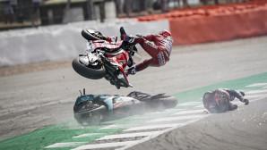 Ντοβιτσιόζο Ducati Ατύχημα