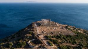 Ο ναος του Ποσειδωνα στο Σούνιο