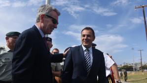 Παναγιωτόπουλος και Πάιατ στην Αλεξανδρούπολη