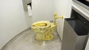 Η χρυσή τουαλέτα