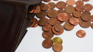 Κέρματα και πορτοφόλι