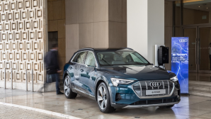 Audi e-tron Kosmocar-Audi χορηγός