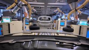 Ford Fiesta Robot γραμμή συναρμολόγησης