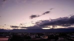 ουρανός στην Αθήνα