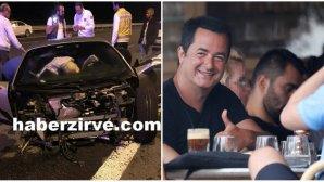 Ο Ατζούν Ιλιτζαλί και το αυτοκίνητό του που κόπηκε στα δύο
