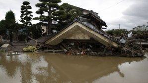 καταστροφές στην Ιαπωνία