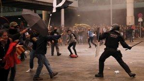 διαδηλώσεις στη Βαρκελώνη