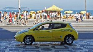 Ταξί Nissan LEAF 354.000 Χλμ. Εργοστασιακή Μπαταρία