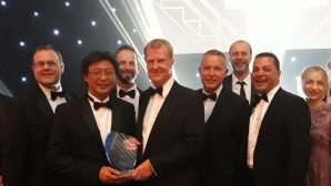YOKOHAMA  βραβείο NTDA Tyre Manufacturer of the Year