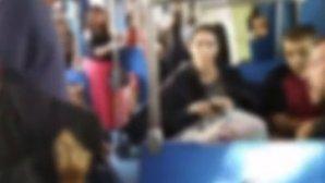 ρατσιστική επίθεση μέσα στο τρένο