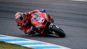 Ducati Αντρέα Ντοβιτσιόζο πίστα του Μοτέγκι