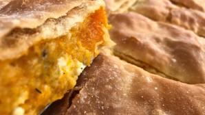 πίτα με πορτοκαλί κολοκύθα με τυρί
