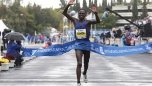 Νικητής Μαραθωνίου Κενυάτης Κόμεν