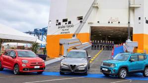 Alfa Romeo Fiat Jeep πλοίο μεταφορά Η.Π.Α.
