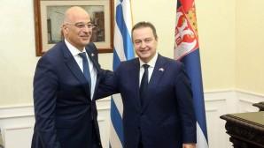 Νίκος Δένδιας και Υπουργός Εξωτερικών Σερβίας