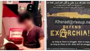 H αφίσα στα Εξάρχεια και ο Ιρανός αντιεξουσιαστής