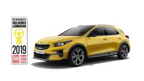 "Kia Xceed Χρυσό Τιμόνι 2019 ""Καλύτερο αυτοκίνητο κάτω από 35.000 ευρώ"""