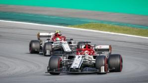Alfa Romeo Racing Formula 1 Team Sao Paulo