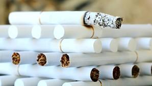 τσιγάρα σε τασάκι
