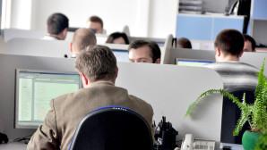 Υπάλληλοι σε γραφείο