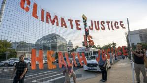 Διαδήλωση για την κλιματική αλλαγή στην Ουάσινγκτον