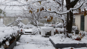 χιόνια στον Κίσσαβο