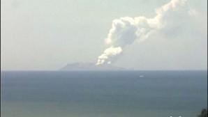 η έκρηξη του ηφαιστείου