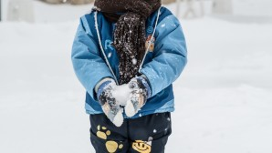 Παιδάκι στα χιόνια