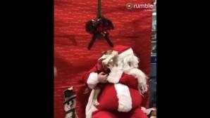 το κουτάβι και ο Άγιος Βασίλης
