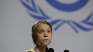 Η Γκρέτα Τούνμπεργκ στη COP25