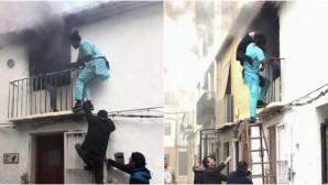 Μετανάστης σώζει άνδρα από φλεγόμενο σπίτι