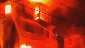 Φωτιά σε σπίτι Κέρκυρα διάσωση