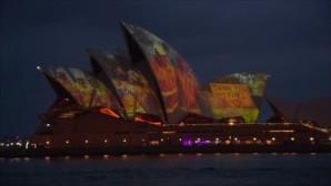 Όπερα Σίδνεϋ Φωτισμός Για Φωτιές