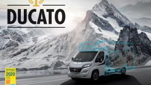 """Fiat Ducato  """"Best Motorhome Base Vehicle 2020"""""""