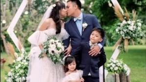 Στιγμιότυπο από τον γάμο
