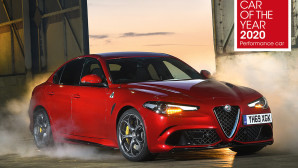 "Alfa Romeo Giulia Quadrifoglio   ""Performance Car of the Year"""