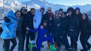 Νιάρχος - Zhukova: Το pre - wedding party στα χιόνια