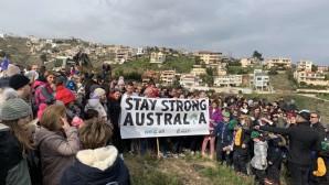 Μάτι: Φυτεύτηκαν 1.000 δέντρα-Μήνυμα συμπαράστασης στην Αυστραλία