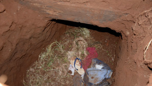 Η είσοδος του τουνέλ στην Παραγουάη