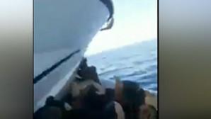 σκάφος εμβολίζει βάρκα